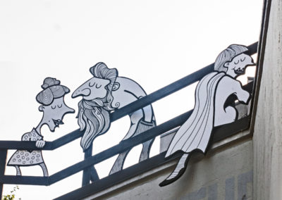 Shouting from the rooftops | commissioned public art in Strathcona by Joni Taylor