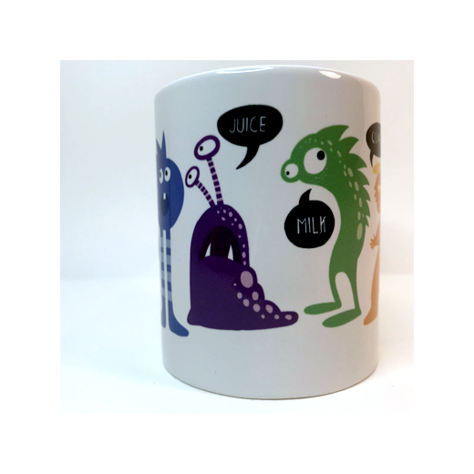 Covfefe mug by Joni Taylor illustrator